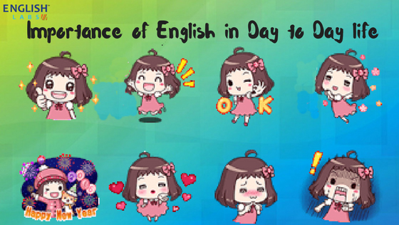 English in day to day life
