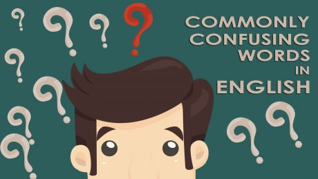 Commonly Confusing Words in English