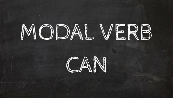Modal Verbs Can