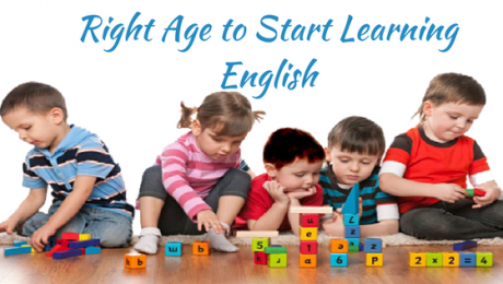 Right Age to Start Learning Spoken English
