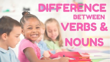 Difference between Nouns & Verbs