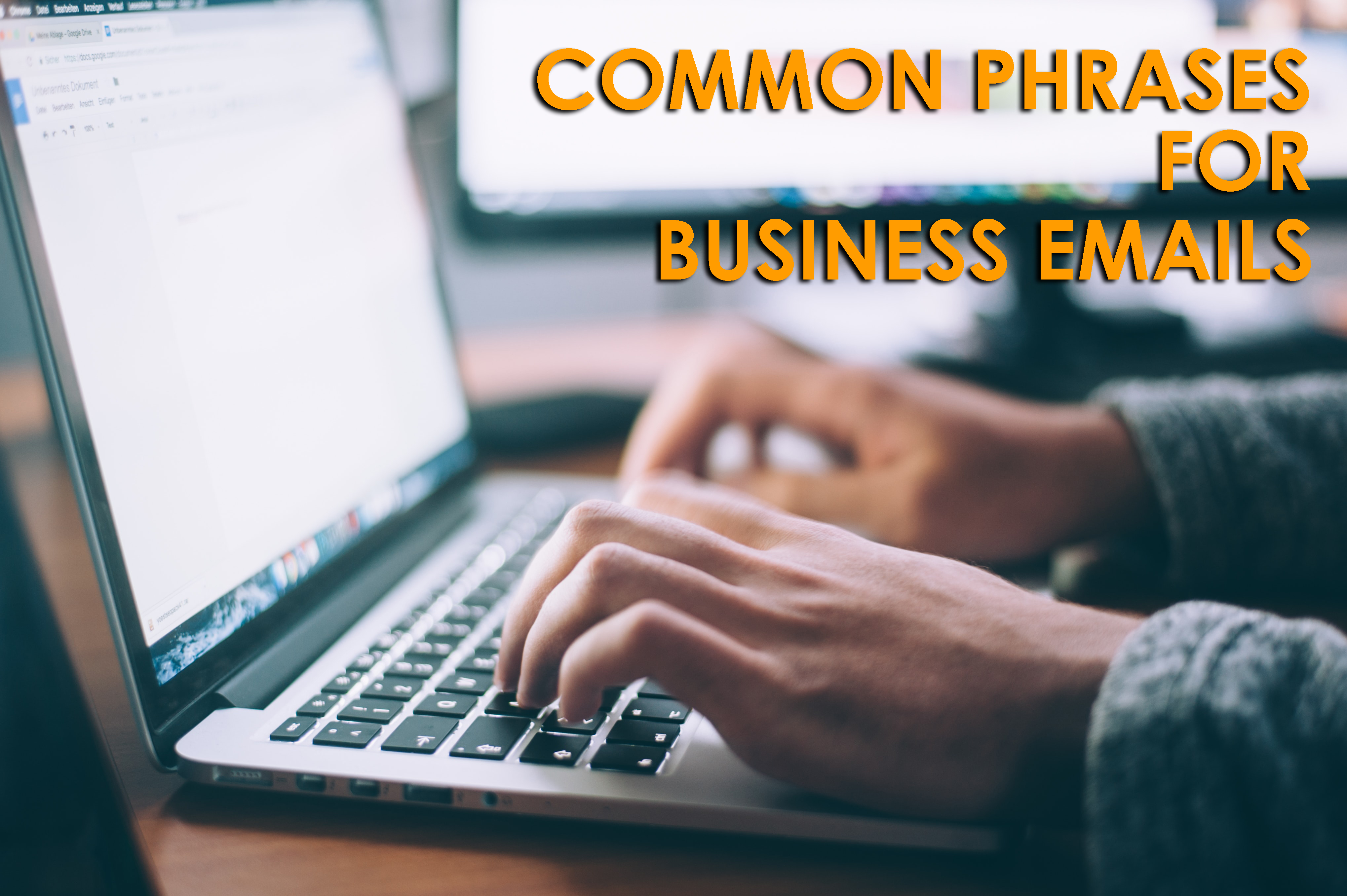 Communication phrases for business Emails