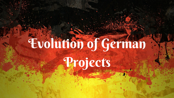 Evolution of German Projects