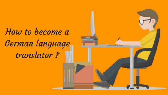 How to become German language translator